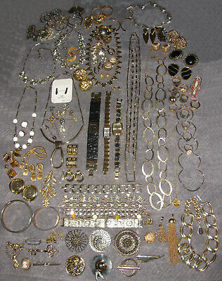 $ CDN499.99 • Buy Vintage Costume Jewelry Avon Sarah Coventry Joan Rivers Signed 100PC Mixed Lot