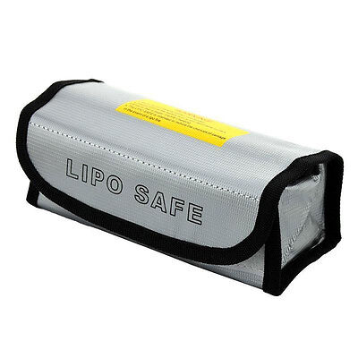 LiPo Safe Battery Guard Explosion Proof 185x75x60mm Charging Protection Bag • 2.48£