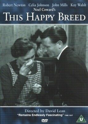 This Happy Breed DVD (2001) Robert Newton, Lean (DIR) Cert U Fast And FREE P & P • 12.99£