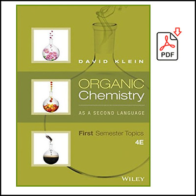 $1.59 • Buy Organic Chemistry As A Second Language: First Semester Topics (P.D.F)