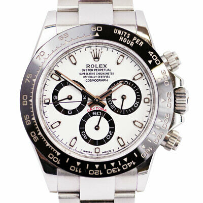 $ CDN34281.91 • Buy Rolex Daytona 116500LN Ceramic White  Panda  Dial 40mm Watch With Card
