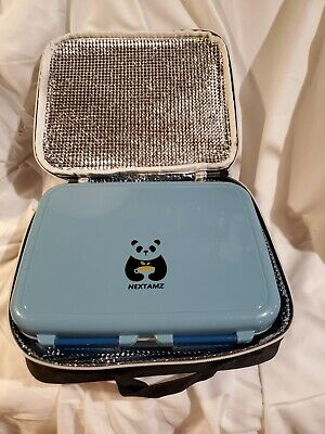NEXTAMZ Blue Lunch Box With Case For Kids  • 10.07£