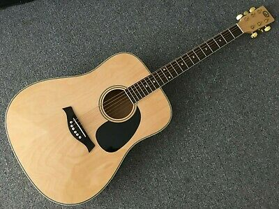AU150 • Buy As New. GW Performer Acoustic Electric Guitar. Minor Blemishes. No Reserves.