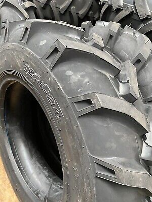 AU400 • Buy NEW TRACTOR TYRE 12.4-24. 12.4x24 R1 Tractor. 8 Ply Nuemaster Freight