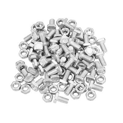 50pc Greenhouse Nuts Bolts Greenhouse Repair Kit Parts Replacement Garden Supply • 6.99£