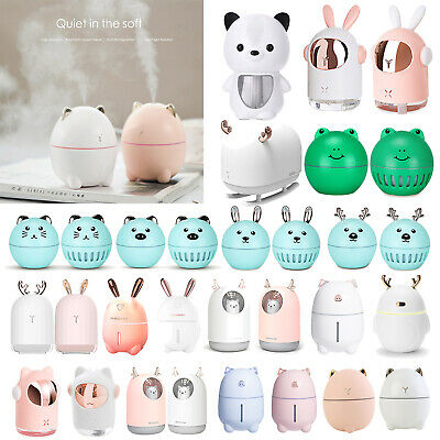 AU20.55 • Buy USB Rabbit Aromatherapy Diffuser Aroma LED Essential Oil Air Humidifier Purifier