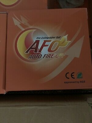 $20.99 • Buy AFO Fire Extinguisher Ball, Self-Activation, AUTO FIRE Off Device 1.3KG. New.