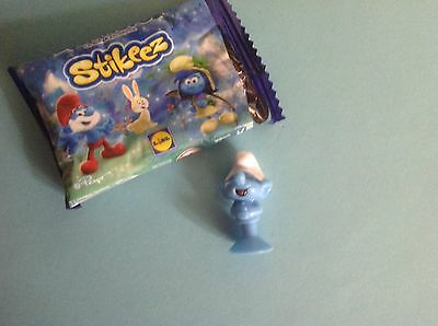 Lidl Stikeez 2017 The Lost Village Smurf Jokey • 1.29£