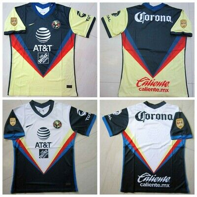 $19.98 • Buy 2020-2021 Club America Home/Away Soccer Jersey And A18 LIGA MX CAMPEON Patch