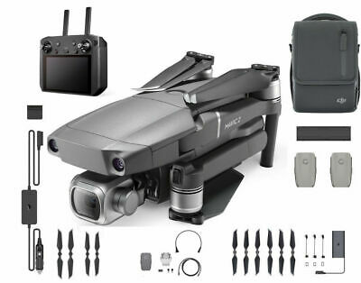 AU2969.52 • Buy DJI Mavic 2 Pro Drone With Smart Controller And Fly More Kit Bundle