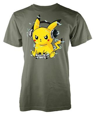 Pichu DJ Music Headphones Adult T Shirt • 9.49£