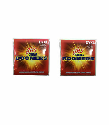 $ CDN20.34 • Buy GHS Boomers Guitar Strings 2-Packs DYXL Alloy Roundwound Electric Light 10-46