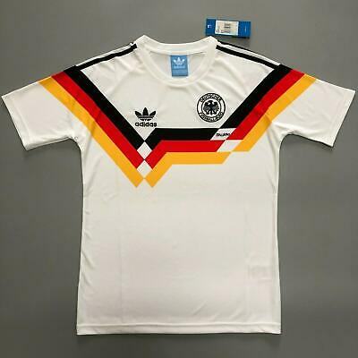 West Germany 1990 World Cup Football Shirt Soccer Jersey Trikot  Vintage Jersey • 21.99£