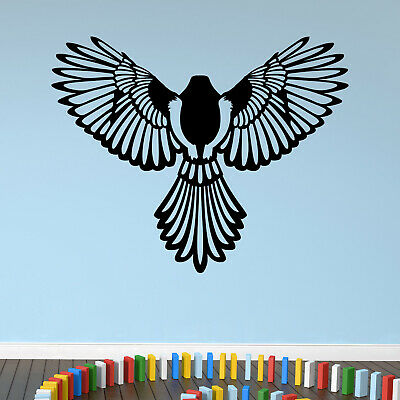 $21.59 • Buy Majestic Magpie Bird Animal Wall Sticker Decal Transfer Feathers Wings Vinyl UK