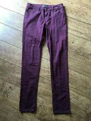 YES Jeans, Purple, Size 8 • 6.90£