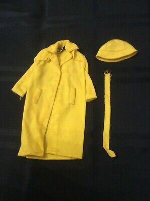 $ CDN19.99 • Buy Vintage Barbie Stormy Weather Yellow Rain Coat, Belt And Hat. #949.  MINT