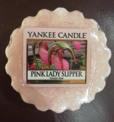 Yankee Candle Wax Melt - Pink Lady Slipper Exclusive Rare Retired Scent NEW • 3.60£