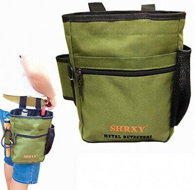 Metal Detecting Finds Bag Waist Digger Pouch Tools Bag For PinPointer Garrett • 38.20£