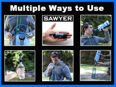 AU53.86 • Buy Sawyer EMERGENCY Mini Water Filter Filtration System (New In Sealed Baggie)