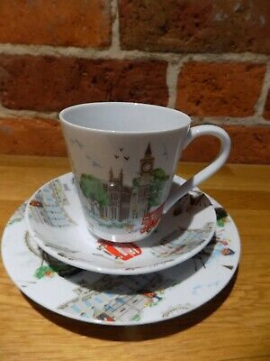 Lovely Bone China Cath Kidston London Trio Set • 20£