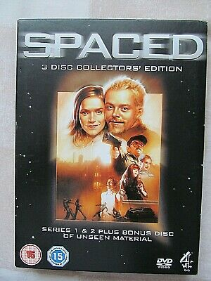 Spaced 3 Disc Collectors Edition DVD  Complete Box Set - Simon Pegg **LIKE NEW** • 4.79£