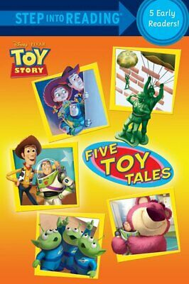 Step Into Reading. Step 1 And 2: Five Toy Tales (Paperback / Softback) • 11.48£
