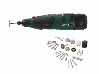Parkside Cordless Rotary Multi Tool Precision Drill With Dremel Type Accesories • 33.99£