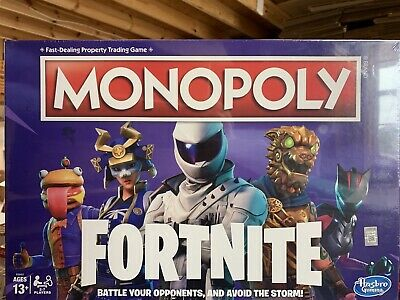 $26.55 • Buy Monopoly: Fortnite Edition Board Game , Ages 13 And Up NEW SEALED