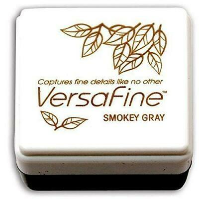 Tsukineko - Versafine - Small Pigment Ink Pad - Smoky Grey • 3.55£
