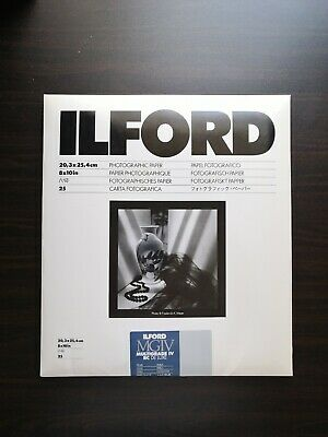 Ilford Multigrade Iv Rc Deluxe Pearl 25 Sheets • 17£