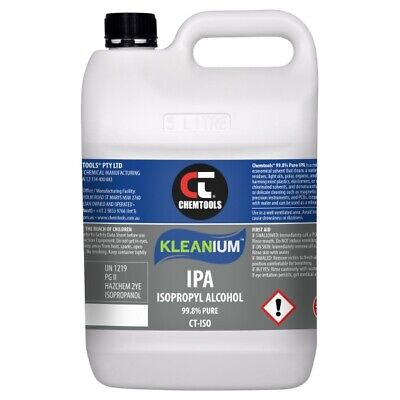 AU50 • Buy Kleanium™ 99.8% Pure IPA Isopropyl Alcohol Spray 5 Litre