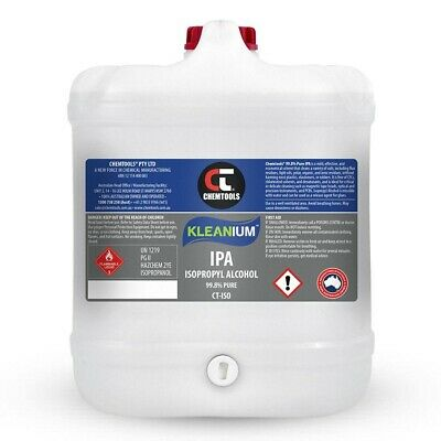 AU170 • Buy Kleanium™ 99.8% Pure IPA Isopropyl Alcohol Spray 20 Litre