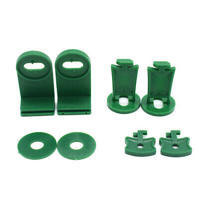 Greenhouse Twist Clips, Shading Fixing Clips, Washers For Greenhouse Fixing • 6.99£