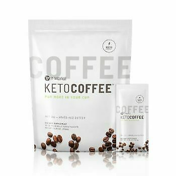$59.99 • Buy Keto Coffe It Works 15 Packets NIB Instant Low-carb Fights Off Ketones