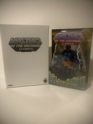$120 • Buy Masters Of The Universe Classics Webstor Sealed With Mailer Motu Motuc