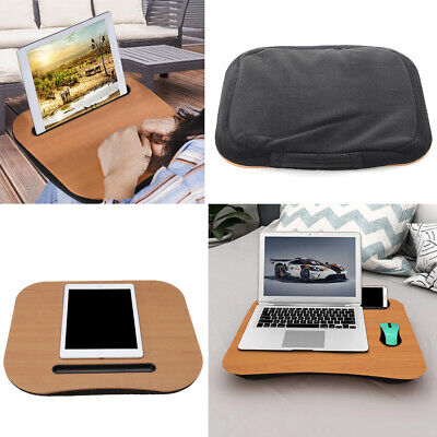 Portable Cushioned Desk Knee Laptop Notebook Tray Computer Tablet  Writing Table • 14.95£
