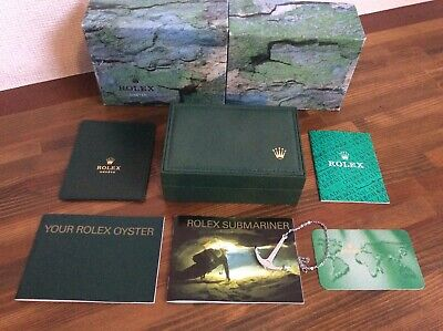 $ CDN473.98 • Buy Rolex Submariner 14060 Watch Box Set 68.00.08 + Anchor,Booklets,ect + FREE POST
