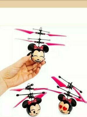 £14.15 • Buy Disney Minnie Mouse + Mickey Mouse Heli Ball Indoor Helicopter Flying Toys