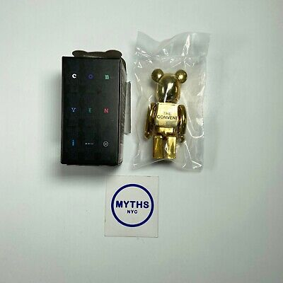 $118.88 • Buy The Conveni Fragment Design Medicom Bearbrick 100% - Gold - SHIPS NOW