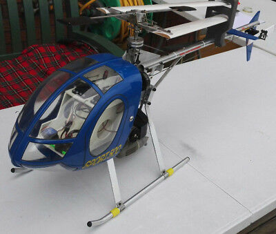 Vintage Mfa Sport 500 Rc Helicopter Best Example • 450£