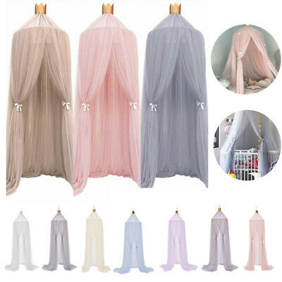 £19.99 • Buy UK Kids Baby Bed Canopy Bedcover Mosquito Net Princess Curtain Bedding Dome Tent