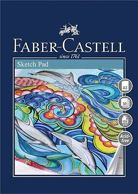 Faber-Castell Creative Studio Sketch Pad, A3 100 GSM Pad Of 50 Sheets • 27.99£