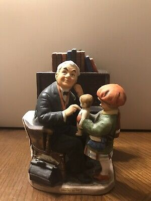 $45 • Buy Norman Rockwell Dave Grossman Doctor And The Doll Figurine