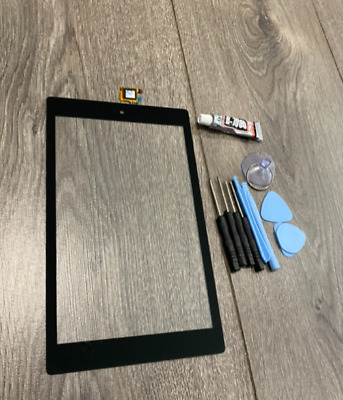 """£12.99 • Buy Amazon Kindle Fire 7 2019 7"""" M8S26G Touch Glass Screen Digitizer Replace + GLUE"""