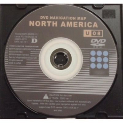 $ CDN12.07 • Buy NEW LATEST Toyota Lexus U08 13.1 Navigation GPS Map Update DVD Gen 2/3 EAST WEST