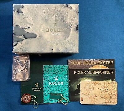 $ CDN1002.45 • Buy Rolex Box Set For Submariner No Date 14060 From 1992