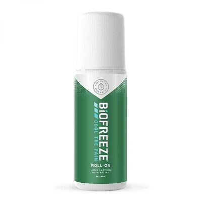 £13 • Buy Biofreeze Roll On 3oz Pain Relief Cool Therapy Arthritis Sore Back Joints Mus...