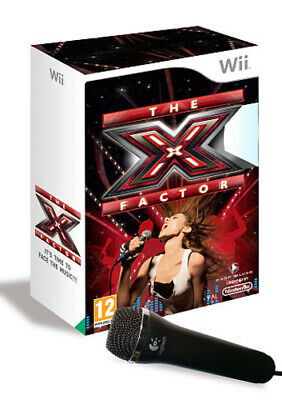 The X Factor (Wii) PEGI 12+ Rhythm: Sing Along Expertly Refurbished Product • 19.37£