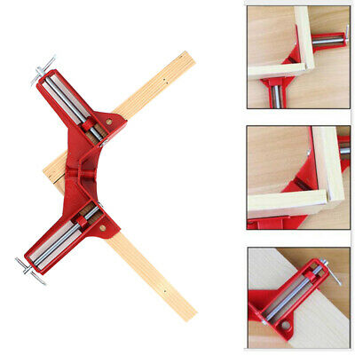 $14.99 • Buy Durable Metal Handle Right Angle 90 Degree Clamp Photo Frame Corner Clip