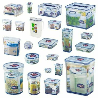 Lock And & Lock Plastic Food Storage Containers Cake Lunch Box Cereal Sandwiches • 7.74£